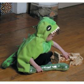 Grünes Dino-Cape Gr. 4-8 Jahre