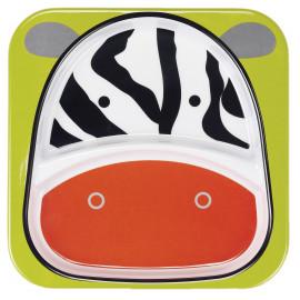 Melaminteller Zoo - Zebra