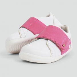 Schuhe Step up - Boston Trainer White + Pink - 729911